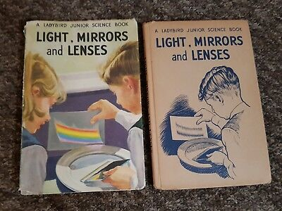 Vintage ladybird series 621 light mirrors and lenses 1st edition Dj