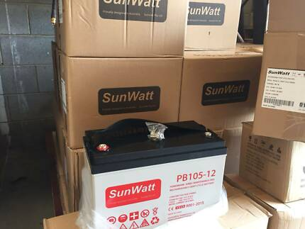12V GEL Battery, solar panel, Pure sinewave inverter good quality Acacia Ridge Brisbane South West Preview