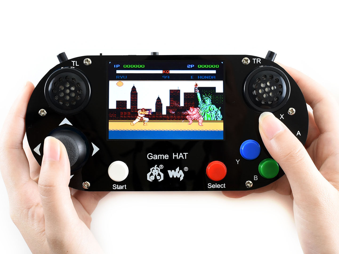 "Waveshare Video Game Console for Raspberry Pi 3.5"" IPS scree"