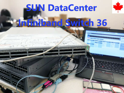 Oracle Sun datacenter infiniband IB switch 36 40GB Switch Fully Tested