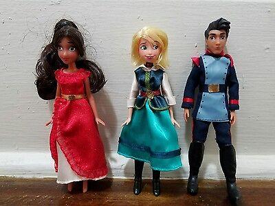 Disney Parks Elena of Avalor and Friends Mini Doll Set - 5''