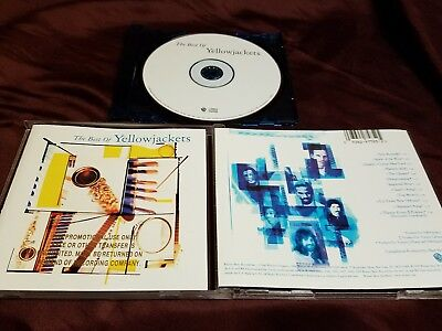 Best of Yellowjackets CD Jazz  Warner Bros Greatest Hits! Gold stamped promo!
