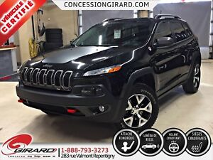 2016 Jeep Cherokee TRAILHAWK*GARANTIE PROLONGÉE*HITCH 4 500 LBS*