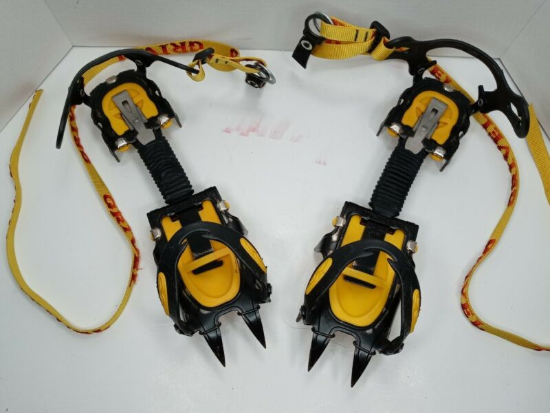 Grivel G12 Classic Crampons Pre-Owned still in Good Used Condition.