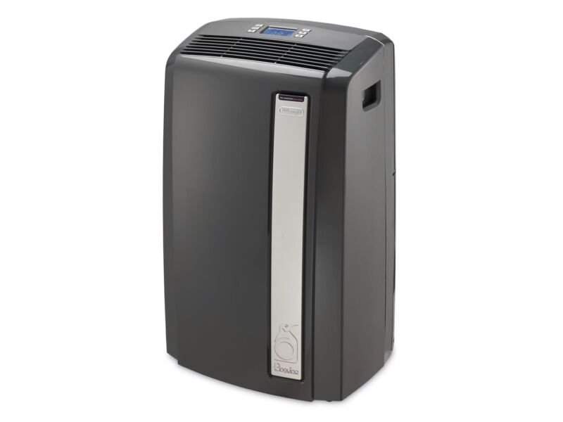 DeLonghi Pinguino 12,500 BTU Portable Air Conditioner with Heat (PACAN125HPEKC)