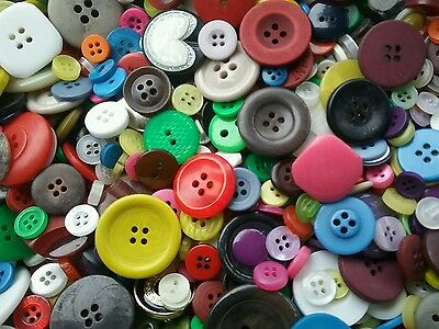 Sewing Button Mix  2 Bulk Lots Of 100  200  400  500