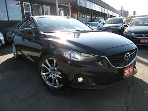 2014 Mazda Mazda6 i Grand Touring, Moon Roof, Leather Interior, Heat