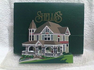 Sheila's Houses-Anderson House of Stillwater, MN-Limited Production Piece SIGNED