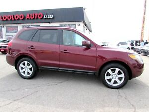 2007 Hyundai Santa Fe GLS LEATHER SUNROOF CERTIFIED 2YR WARRANTY