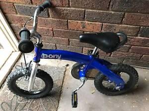 kids multi use bike - balance bike and push along bike