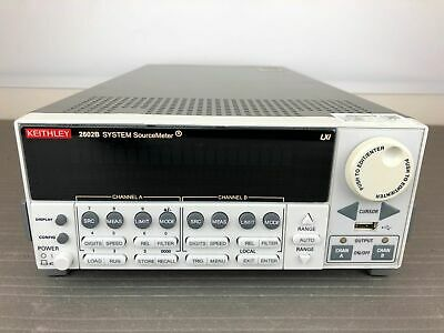 Keithley 2602b Dual Channel Sourcemeter Smu 40v 3a 40w - Calibrated