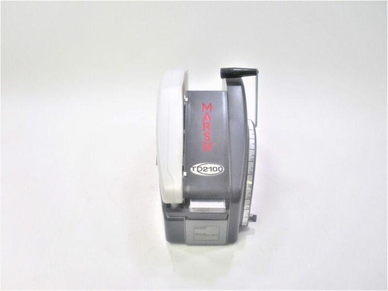 Marsh TDH TD2100 Portable Manual Gummed Packing Tape Dispenser