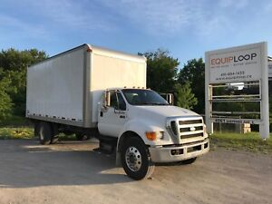 2008 Ford F650 20ft straight truck