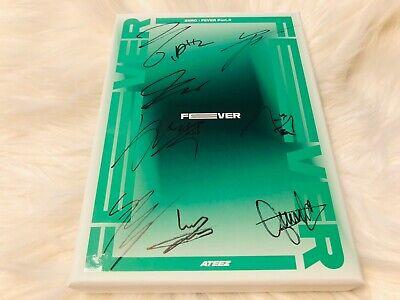ATEEZ - ALL MEMBER Autograph(Signed) PROMO ALBUM KPOP #22