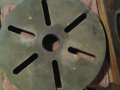 Leblond Lathe Face Plate 12 Dia. 2-18-5 Tpi Spindle Mount 1.9 Minor Diameter