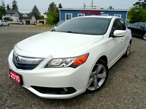 2015 Acura ILX Tech PKG Navigation Sunroof Camera Certified