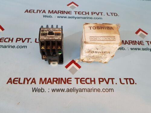 Toshiba c11a(1a) magnetic contactor jem ac3-1-0 iec bs ac3