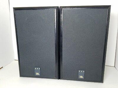 Genuine JBL 500 2-way 5 1/4 bookshelf LOUDSpeakers 50 watts 8 ohms EX Sound 8 Ohms 2 Way Loudspeaker