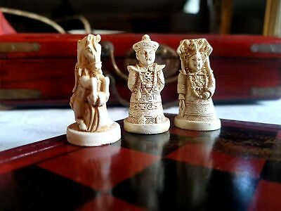 Handcraft TANG Antique Chess in Ancient Chinese characters (SM)  Ancient Chinese Chess