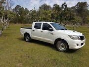2011 Toyota Hilux Dual Cab KUN16R MY10 SR 4 Cyl Diesel Guanaba Gold Coast West Preview