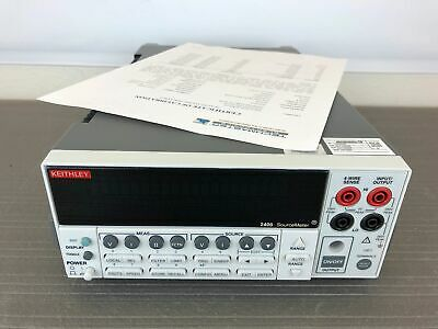 Keithley 2400 General Purpose Digital Sourcemeter 200v 1a 20w - Calibrated