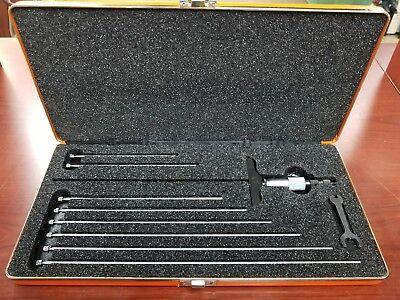 Starrett No.445 Depth Micrometer Usa Made