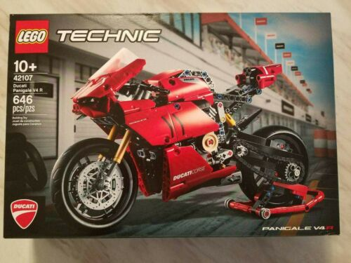 LEGO Technic Ducati Panigale V4 R Motorcycle Toy Building Kit 42107 - $56.00
