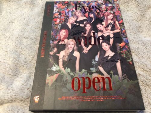 TWICE All Member Autographed (Signed) Promo CD