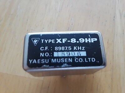 YAESU SSB FILTER XF 8.9HP FOR FT 101ZD AND MORE for sale  Romeoville