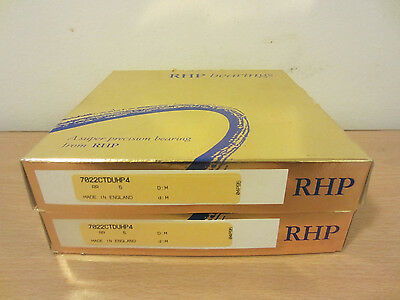 Rhp 7022ctduhp4 Angular Contact Bearings Skf 7022 Cdp4adgc