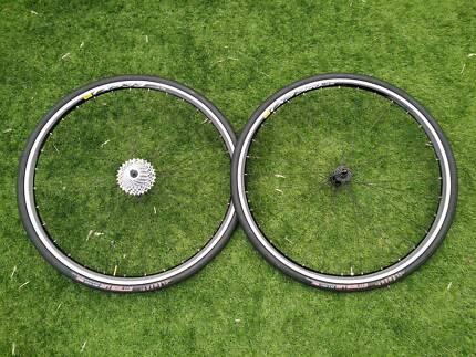 Custom Built DT Swiss Wheels