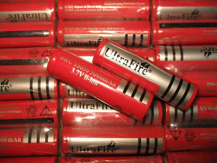 2x NEW 18650 Battery, 5000mAh!! Albany 6330 Albany Area Preview