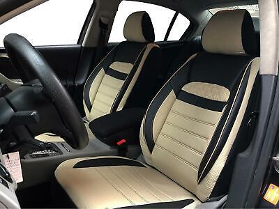 BMW 1er F20 F21 Schonbezüge Sitzbezüge Fahrer /&Beifahrer Kunstleder D104