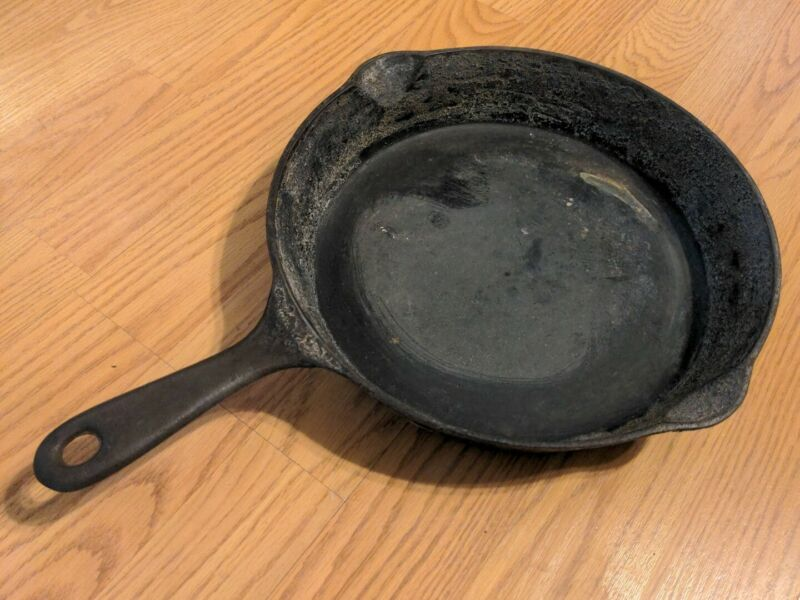 Antique Good Health Skillet 8 658 Griswold Cast Iron