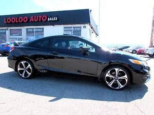 2015 Honda Civic Si Coupe 6-Speed Manual Navigation Camera Certi
