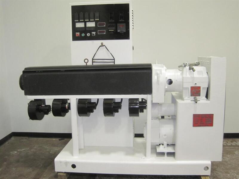 "2.5"" Welex Extruder, 24:1 L/D, Air Cooled, 20 HP"