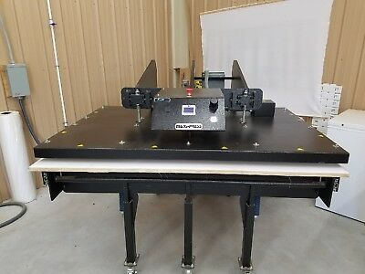 George Knight Maxi Press 44 64 Heat Press Air Operated 4 Years Old.