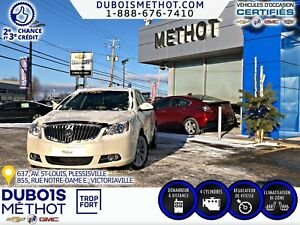 2012 Buick Verano BLUETOOTH + DEMARREUR + EXCELLENTE CONDITION
