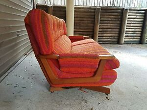 Funky 70s retro couch Harris Park Parramatta Area Preview