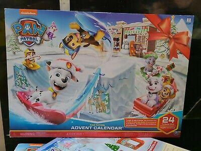 Nickelodeon Paw Patrol Christmas Advent Calendar 7 Pups 2 Friends 15 Accessories