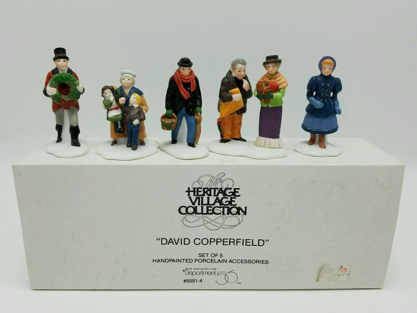 department 56 dickens david copperfield characters 5 pc set new in department 56 dickens david copperfield characters 5 pc set new in box retired 3 3 of 3 see more