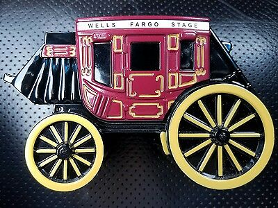 Wells Fargo Bank Stage Coach Metal Bank Union Trust Co 2011