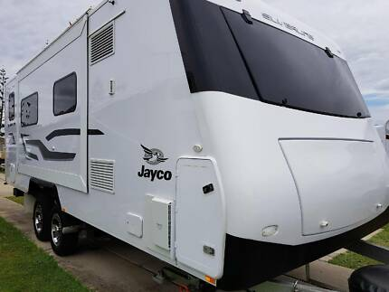 Jayco Silverline 2016 Caravan As New Including Caravan Movers