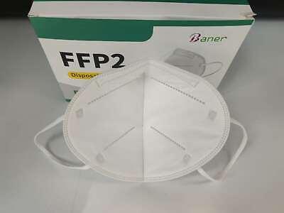 20x FFP2 Atemschutzmaske Schutzmaske Maske CE EN149:2001+A1:200 Zertifiziert