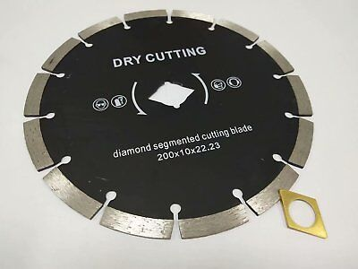8 Diamond Saw Blade Segmented Dry 15 Pieces Cutting Stone Concrete Block Brick