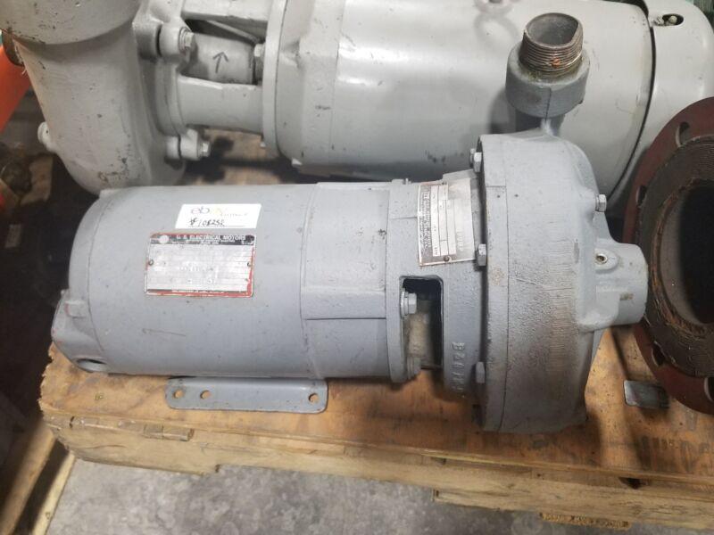 Gossett 1531 Pump US Motors 3hp 3 phase 145JM #1082SR