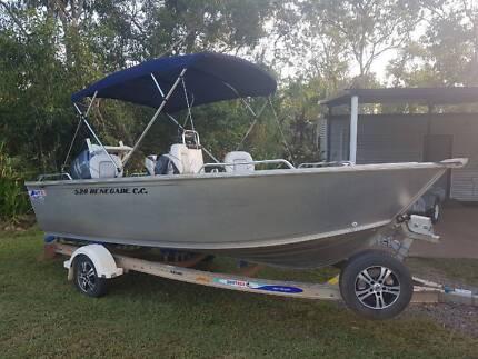 2015 5.2 metre quintrex fishing boat Darwin CBD Darwin City Preview