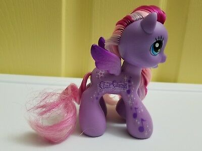 My Little Pony G3.5 Starsong Name on Side Purple Pegasus Brushable Hair Figure