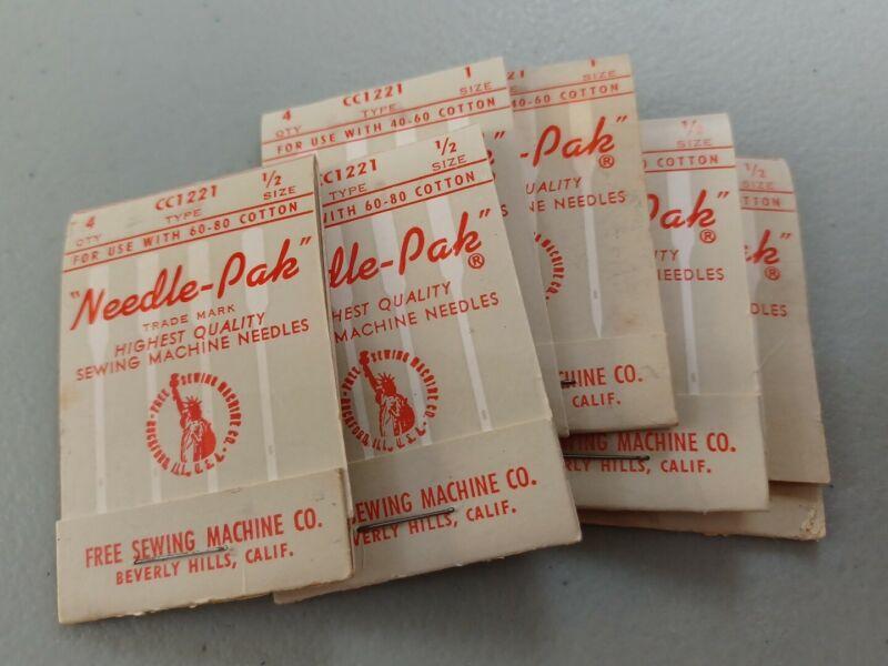 Vintage Sewing Machine Needle Lot
