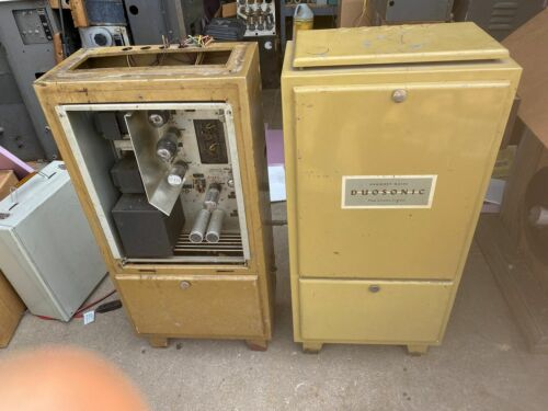 2 western electric RCA Gaumont-Kalee theatre tube amplifier